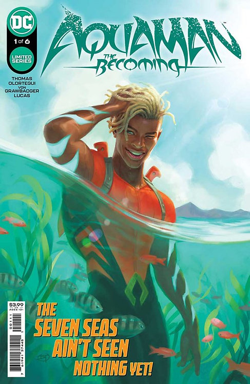 Aquaman the Becoming #1 (of 6)