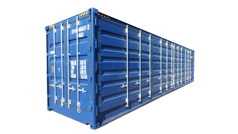 40' High Cube Open Side Container