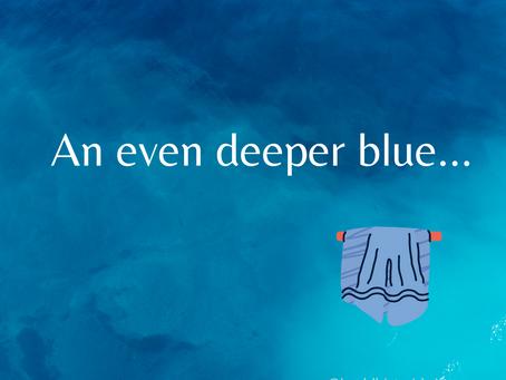 An even deeper blue... a Buddhist midwife on a journey
