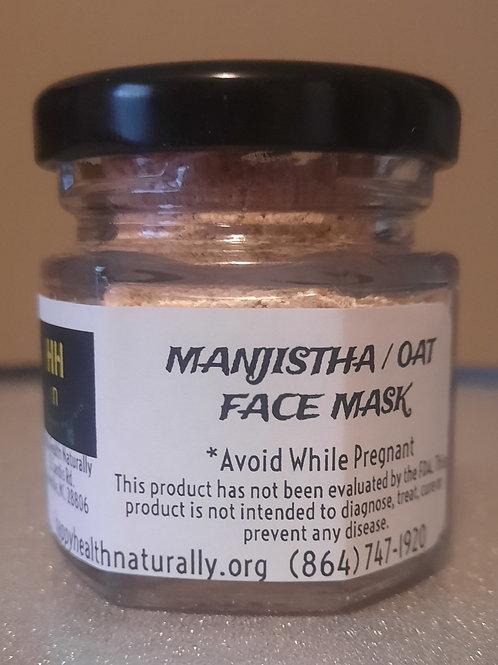 FACE MASK- MANJISTHA /OAT 1.5 OZ.