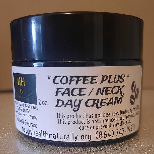 """""""COFFEE PLUS"""" FACE/NECK CREAM 2 OZ."""
