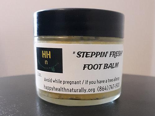 """STEPPIN' FRESH"" FOOT BALM 2 OZ."