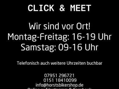 Click & Meet ab 15.05.2021