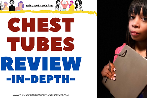 Chest Tube MasterClass