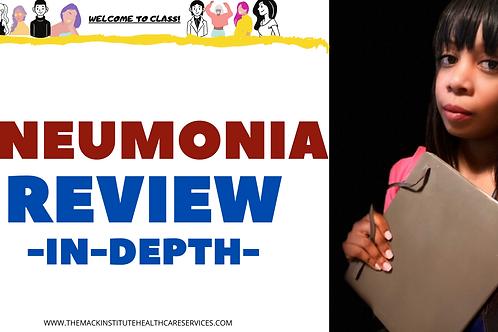 Pneumonia E-Course