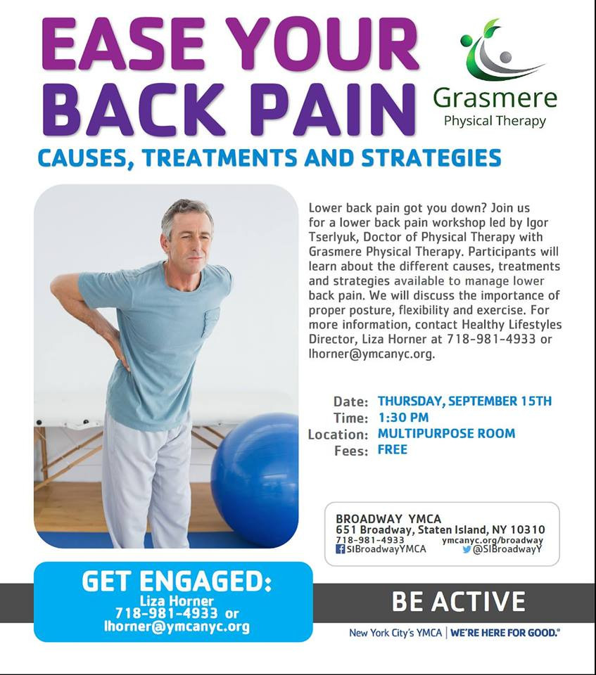 grasmerept, back pain, treatment