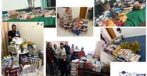 Unar promove campanha de arrecadação de alimentos com 18 toneladas