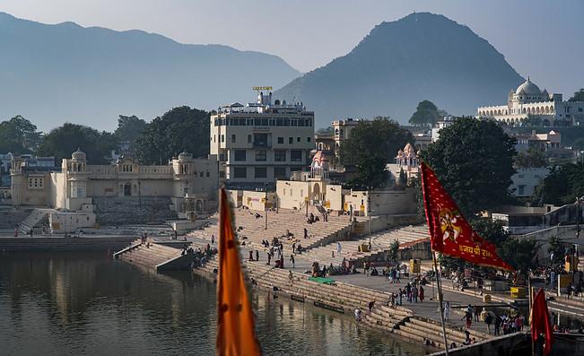 Pushkar Holy Steppond
