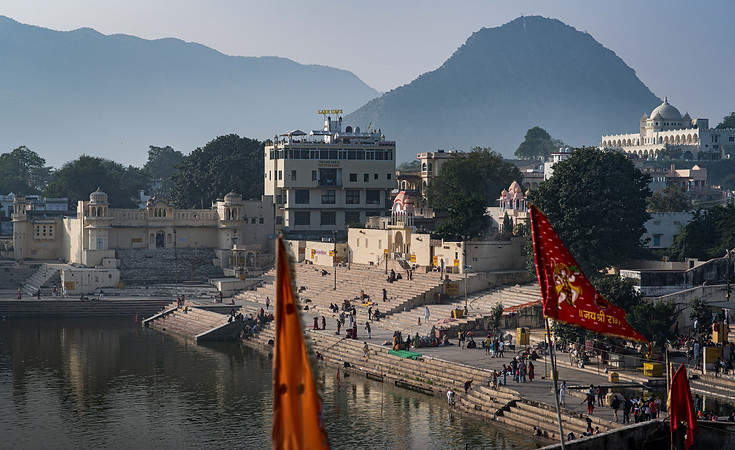 Pushkar Holy Steppond