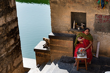 Gomukh Holy Kund in Chittorgarh