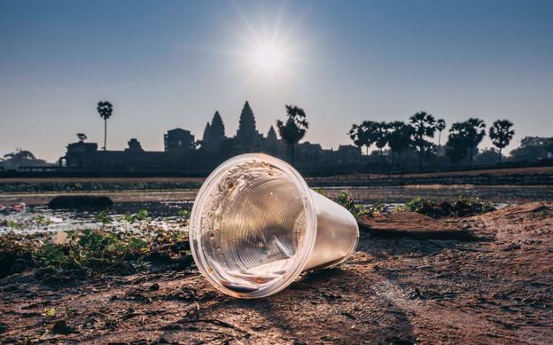 Trash - Cambodia - Angkor
