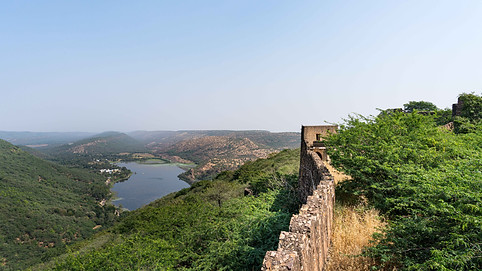View from Taragharh Fort