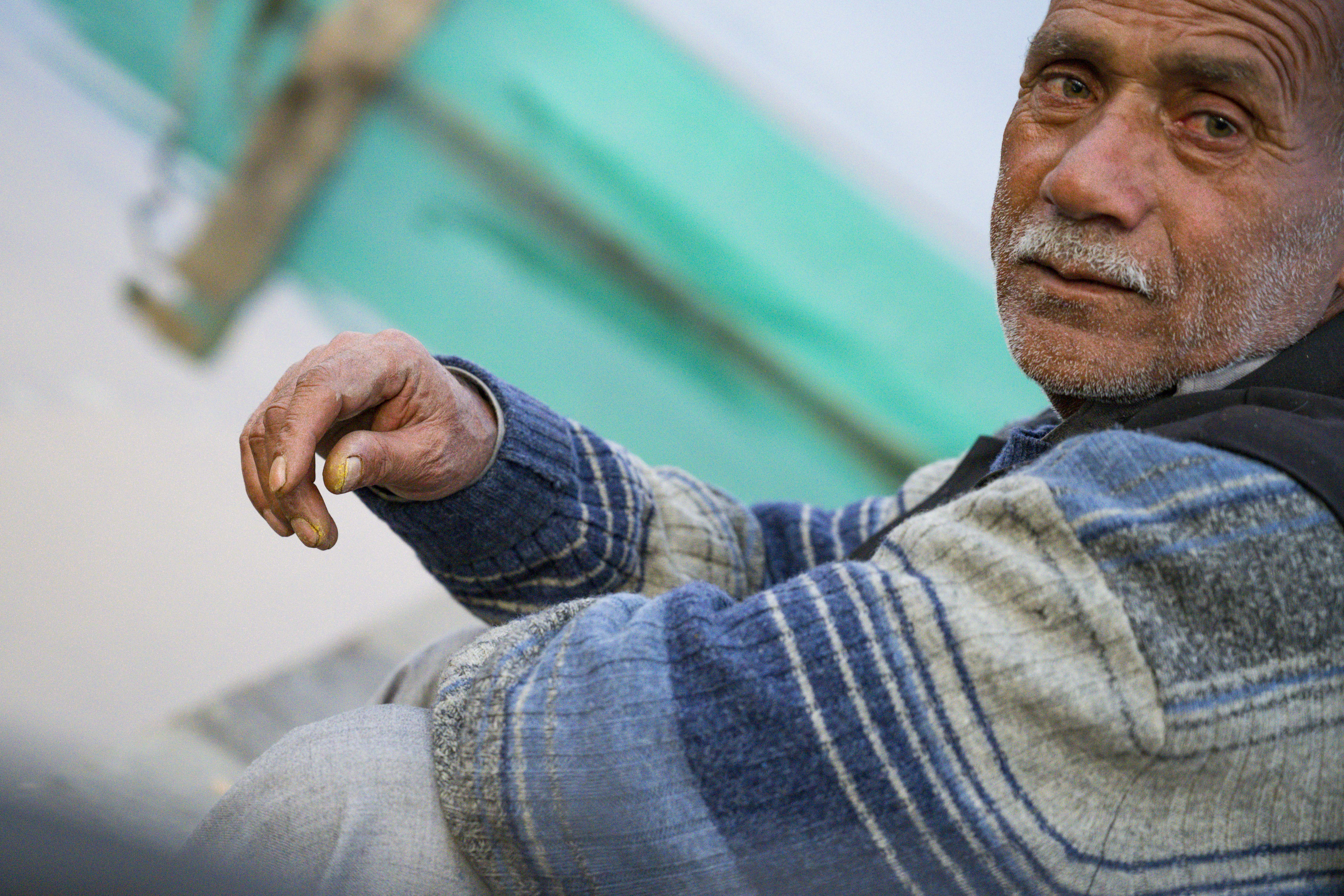 Portrait of a Fisherman, Srinagar