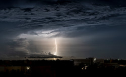 Lightning on Merida