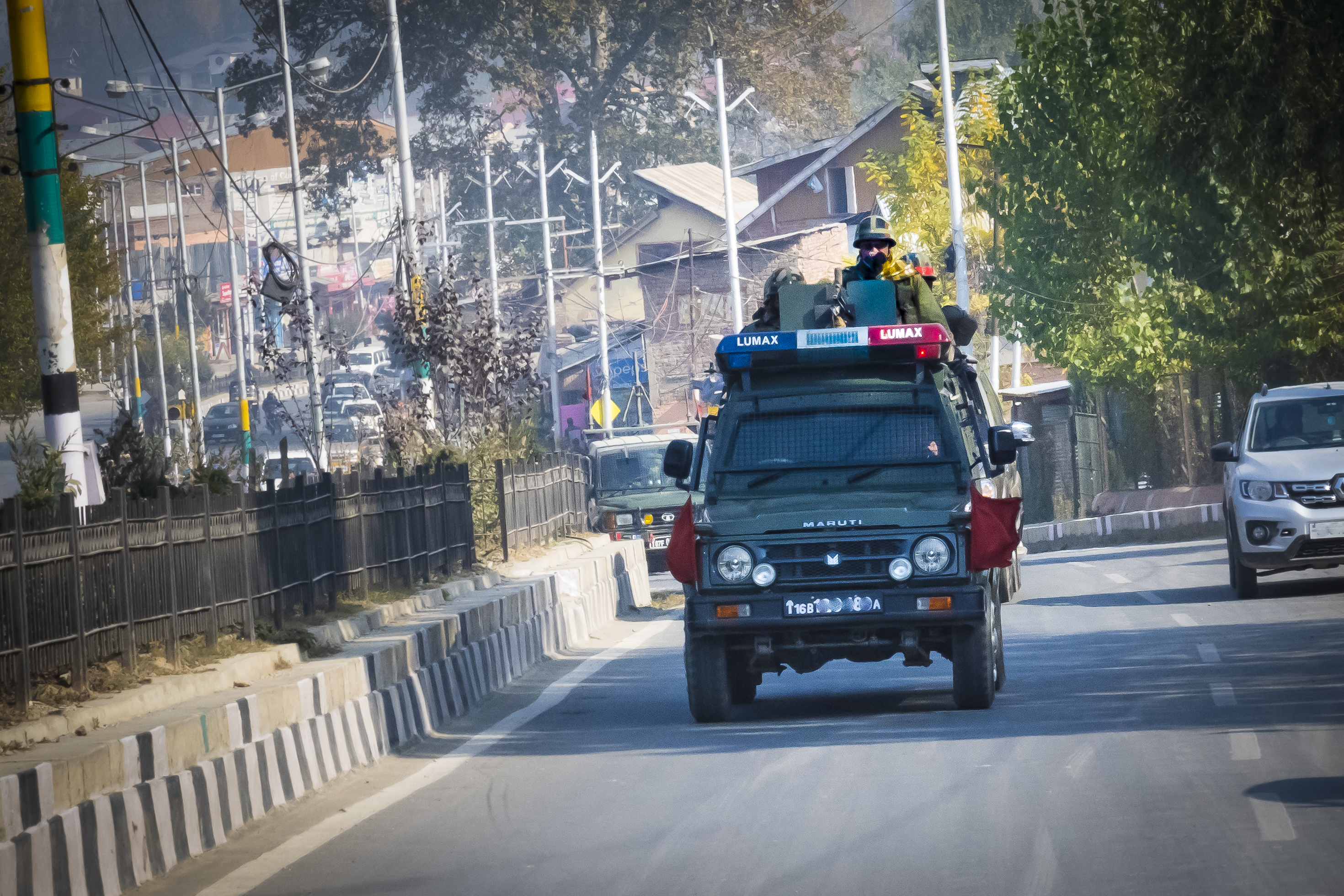 Armed Men in Srinagar