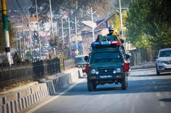 Armed Men in Srinagar