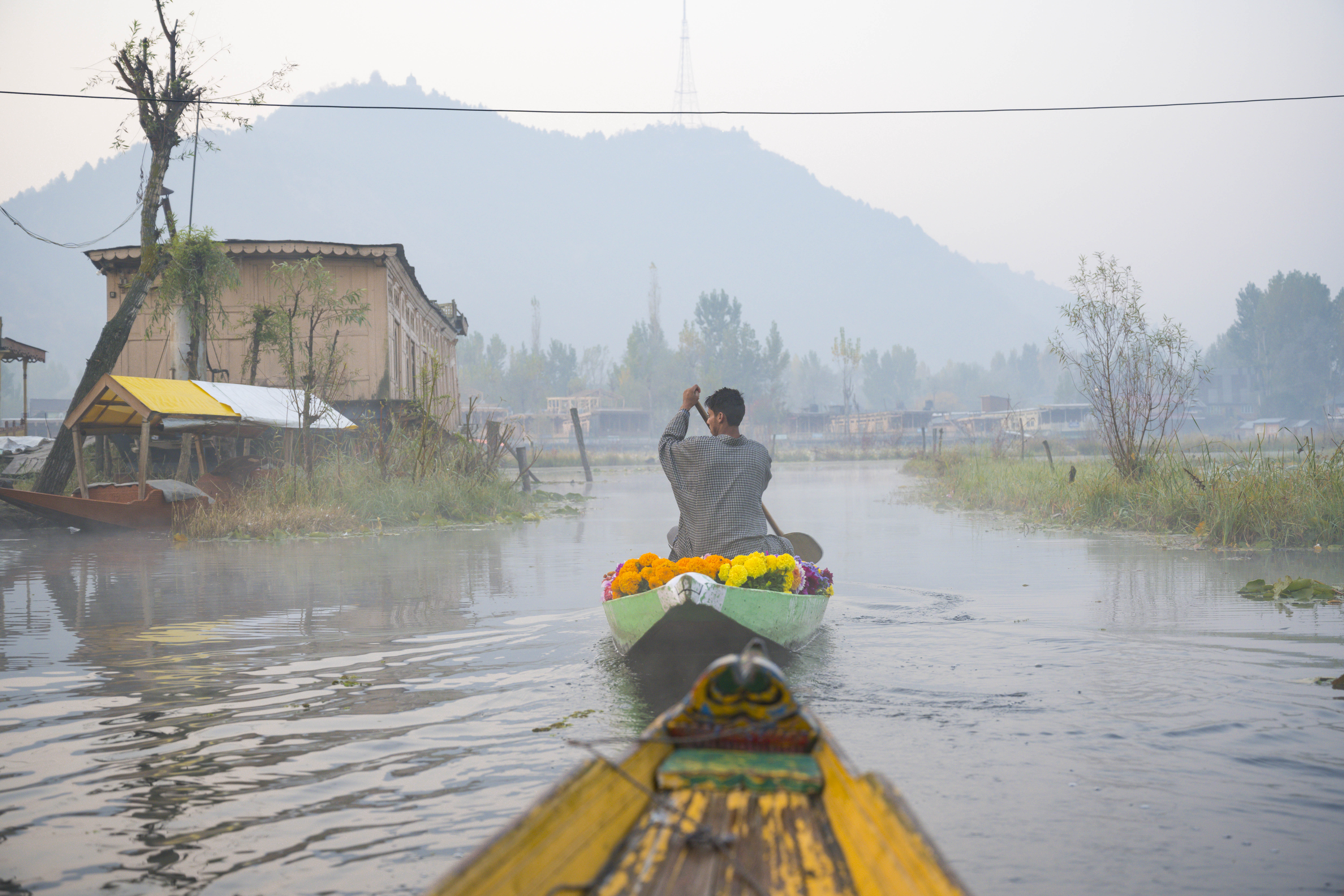 Floating Market, Dal Lake, Srinagar