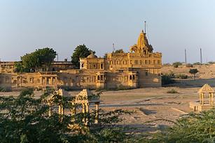 Amar Sagar Jain Temple's Bawris