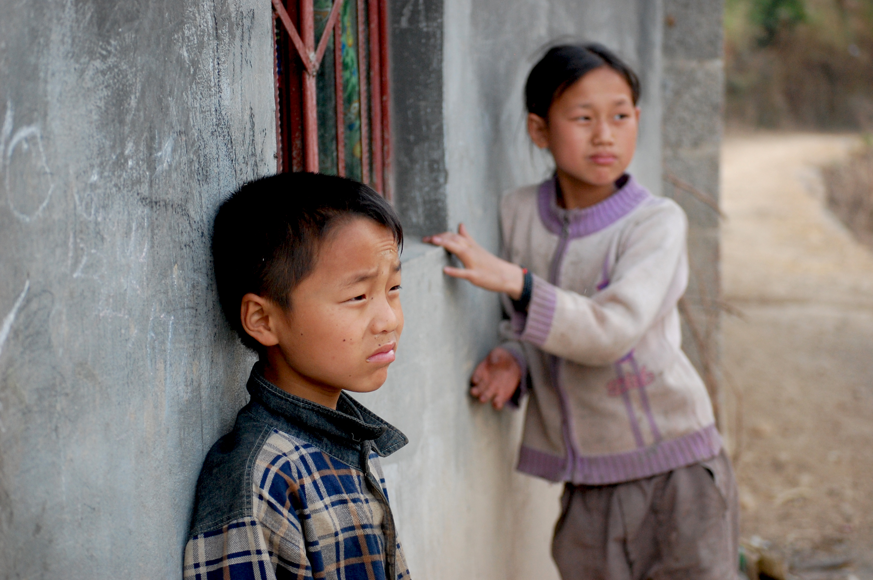 Sichuan countryside kids