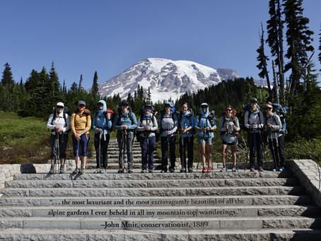 SheJumps Fundraising Climb: Mt. Rainier Recap 2021