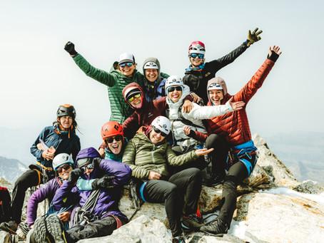 Raising Funds for the Future: Climbing the Grand Teton 2021