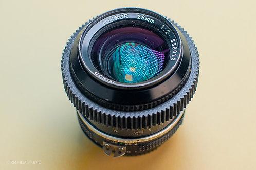Nikon AI 28mm f2.0