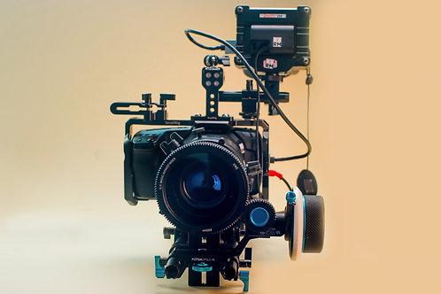 Blackmagic Cinema Anamorphic 2.8k Setup
