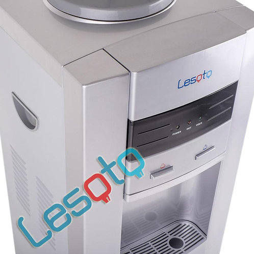 Кулер для воды LESOTO 999 L-C silver-black