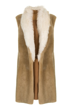 OBE Leather Gilet Reversed
