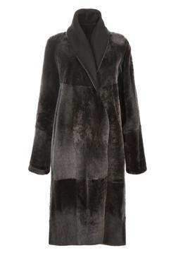 OBE Leather Milano Grey Reversed