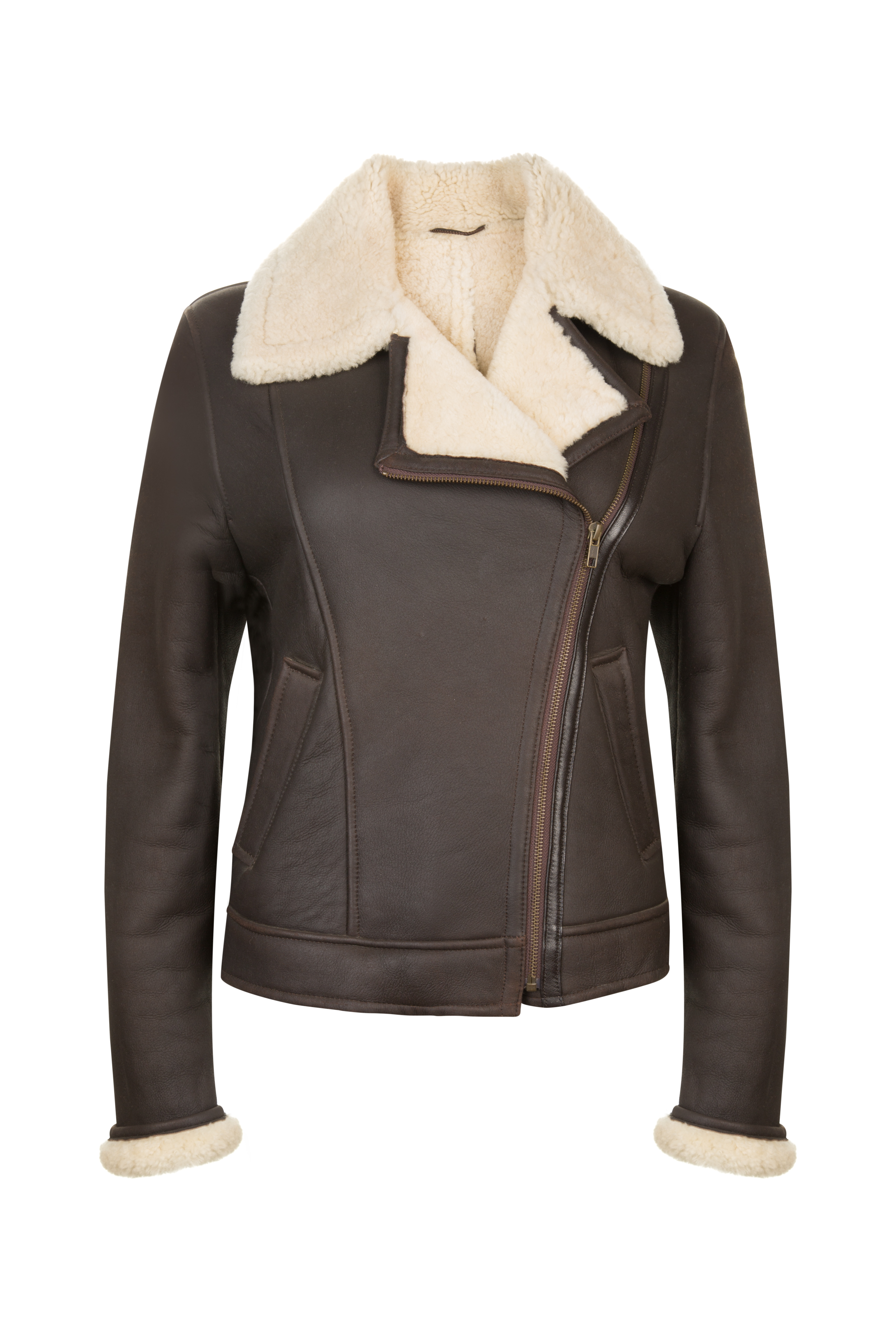 OBE Leather Amy Johnson Sheepskin Flying