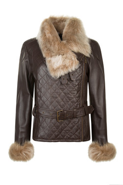 OBE Leather Penelope Pitt Stop Brown