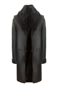 OBE Leather Capri leather Black Grey