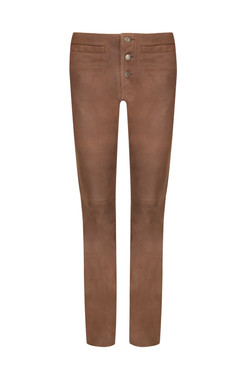 OBE Leather Slim Jean Leather Trousers