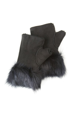 OBE Leather Texting Mitts