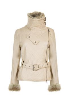 OBE Leather Penelope Pitt Stop Cream