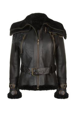 OBE Leather Boeing Jacket