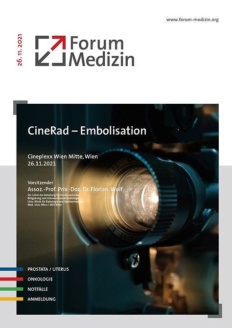116-104 - CineRad - WIen, Embolisation P