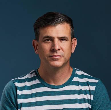 Commercial Portrait Photography - White Male Model, Headshot