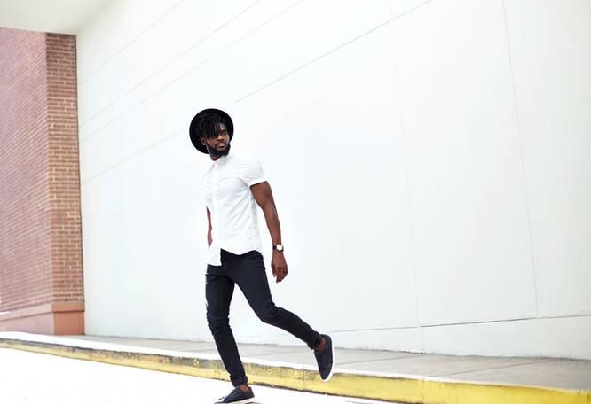Commercial Portrait Photography - Black Male Model