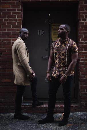 Commercial Portrait Photography - Black Male Models