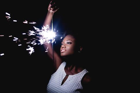 Commercial Portrait Photography - Black Female Model