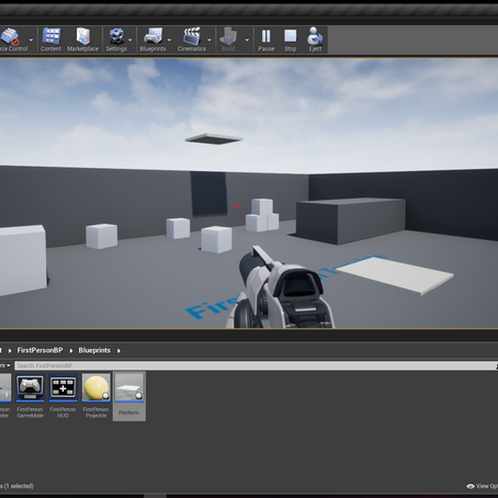 Making a Lift Blueprint in UE 4.18