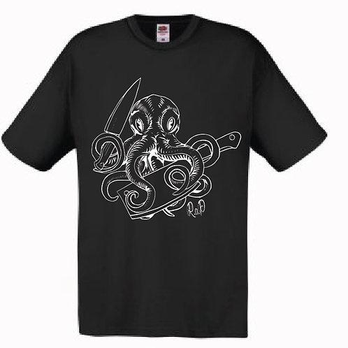 Mens Octopus Skillz T-shirt