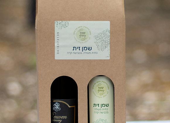 מארז שי - שמן ויין