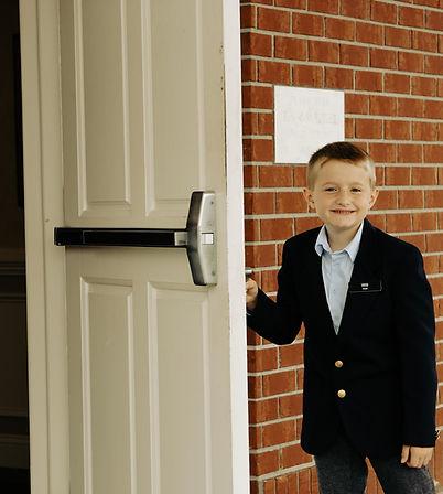Greeter at Savannah Holy Church of God