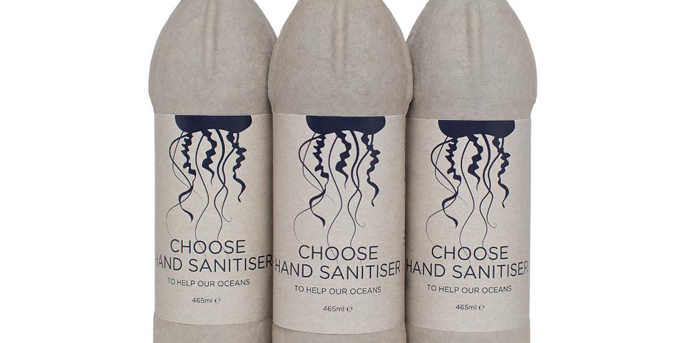 3x Bottles of Biodegradable Surgical Grade Hand Sanitiser