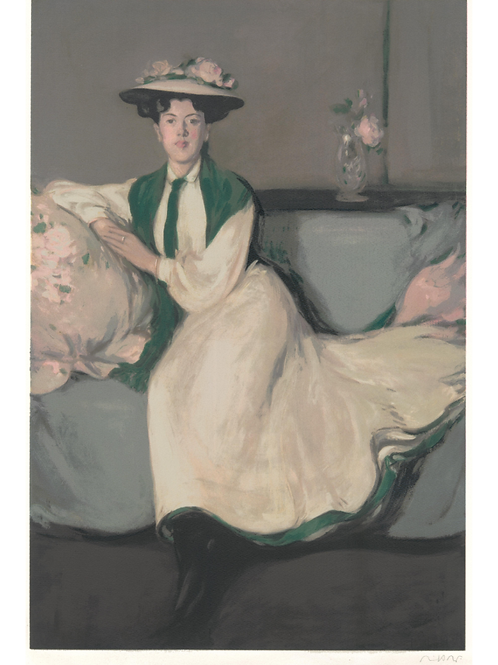 The White Dress (Portrait of Jean)1904