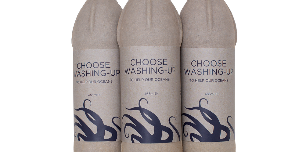 3x Bottles of Biodegradable Washing Up Liquid