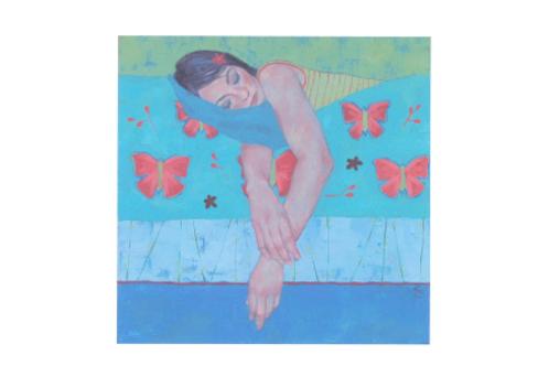 Holly Blue Triptych